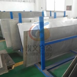 Buy cheap Welded Seamless 400 Monel Nickel Alloy Plate N04400 Seawater Resistant product