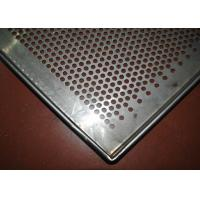 Buy cheap Perforated Stainless Steel Wire Mesh Tray Dehydrated 5-10mm Frame Diameter from wholesalers