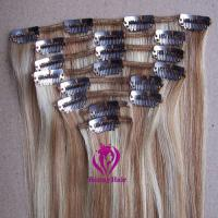 Buy cheap 100% Virgin Remy Hair Clip In Hair Extension from wholesalers