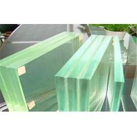 Buy cheap Storm Proof Laminated Safety Glass Flat , SGP Film Toughened Glass from wholesalers