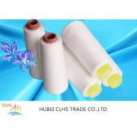 Buy cheap Smooth Surface Polyester Staple Yarn , Paper Cone 100 Spun Polyester Sewing Thread from wholesalers