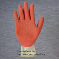 Buy cheap safety gloves coated with Latex GSA-21132 from wholesalers