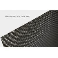 Buy cheap 2400mm Long No Rust One Way Vision Mesh For Preventing Rain Anti Corrosion from wholesalers