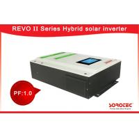 Buy cheap 220 / 230 / 230VAC Pure Sine Wave Solar Hybrid Power Inverters with Dust Proof Filter 50Hz / 60Hz from wholesalers