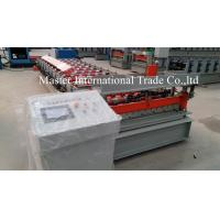 Buy cheap Colored IBR Roofing Sheet Roll Forming Machine With PLC Control 10 - 15m / min from wholesalers