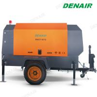 Buy cheap 265 Cfm Diesel Oil Gas Mobile Screw Air Compressor for Sandblaster from wholesalers