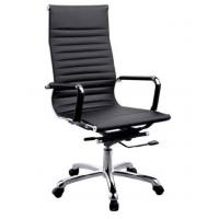 Buy cheap Black PU + PVC leather Office Chair PU Padded Stainless Steel Leg DX-C615 from wholesalers