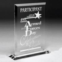 Buy cheap Clear Acrylic Trophy Awards, Available in Various Shapes, Customized Designs are Accepted from wholesalers