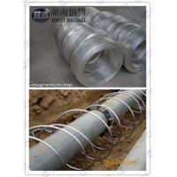 Buy cheap Ribbon Magnesium Anode for underground under earth pipelines steel pipes tanks product