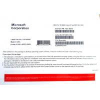 Buy cheap Microsoft Windows 10 Pro 32 / 64 Bit COA License Sticker / DVD + COA Genuine Pack from wholesalers