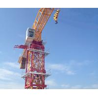 Buy cheap Small Mast Section Tower Crane 10 Ton Max Load And 60m Jib Length from Wholesalers