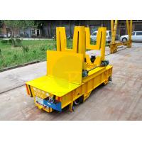Buy cheap 50t Hydraulic lifting battery power scrap transfer car with dumping device from wholesalers