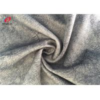Buy cheap Customized Color Sofa Cover Grey Velvet Upholstery Fabric For Furniture from wholesalers