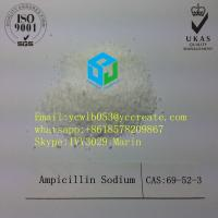 Buy cheap Cas 69-52-3 Antibiotic Pharmaceutical Raw Material Ampicillin Sodium from wholesalers