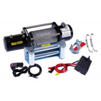Buy cheap 9500lb Electric ATV Winch , 12 Volt Electric Winch Remote Control from wholesalers