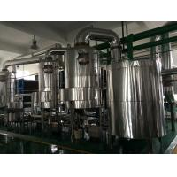 Buy cheap PHE High Heat Transfer Multiple Effect Evaporator Wastewater Treatment  Industrial from wholesalers