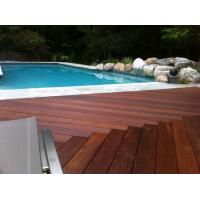 Buy cheap Swimming pool brazilian teak wood decking from wholesalers