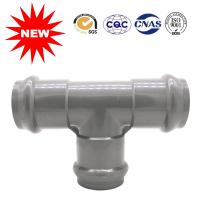 Buy cheap Pipe Fittings UPVC Pressure Pipe Fittings PVC Three Faucet Tee from wholesalers