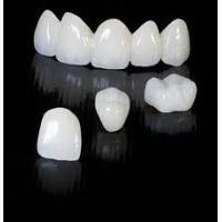 Buy cheap Natural Zirconia  No Allergies Quick Solution  Teeth Cosmetic Crowns And Bridges from wholesalers