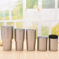 Buy cheap Double Wall 304 Stainless Steel Vacuum Installation Mug [Travel Mug] Cup Water Bottle Tea Thermal Flask Tumbler from wholesalers