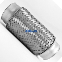 Buy cheap Stainless Stee FAW Engine System 89mm Flexible Exhaust Hose from wholesalers