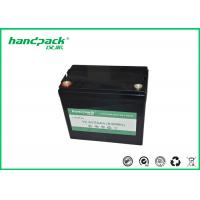 Buy cheap OEM Deep Cycle 12V50Ah LiFePO4 Battery , Rechargeable Lithium Battery Pack High Power from wholesalers