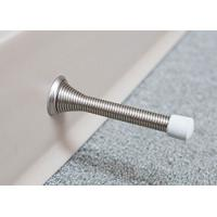 Buy cheap Custom Size White Hinge Pin Spring Loaded Door Stop Replacement Bumper Rubber Tips from wholesalers