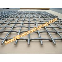 Buy cheap Flat top crimped wire mesh from wholesalers