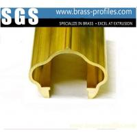Buy cheap Brass Extruding Handrailing / Brass Stair Handrails for Constrution Design from wholesalers