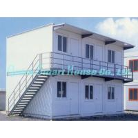 Buy cheap Economical Combined Prefab Container House With EPS Sandwich Panel Wall from wholesalers