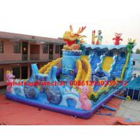Buy cheap Factory Price Customized Dragon Theme Large Outdoor Commercial Inflatable Bouncer Castle For Kids from wholesalers