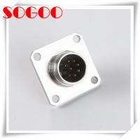 Buy cheap Ip68 Waterproof 8 Pin AISG RET Cable Connector Square , Female Flange Dip Type Connector from wholesalers