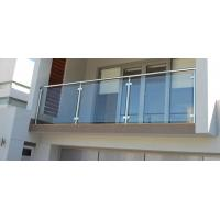 Buy cheap Modern Design Balcony / Terrace / Deck Balustrade with Stainless Steel 304 Top Handrail from wholesalers