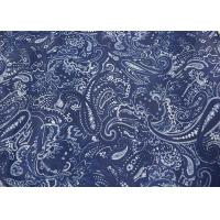 Buy cheap Blue Printed Apparel Fabric , Fashion Print Fabric Raw Materials from wholesalers