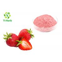 Buy cheap Food Grade Strawberry Extract Powder Organic Dietary Supplement For Beverage from wholesalers