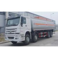 Buy cheap Edible Oil Transport Vehicle Oil Tank Truck , Mobile Gas Station Fuel Oil Trucks 25-30CBM from wholesalers