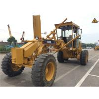 Buy cheap Year 2014 Used Motor Grader CAT 140K , Grader Heavy Equipment With Push Block from wholesalers