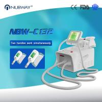 Cryolipolysis  slimming machine 2 handles working at same time with high quality