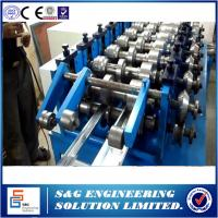 Buy cheap Limitless hydraulic Z purlin Cold Rolling Forming Line C/Z Type Steel Frame Making Machine product