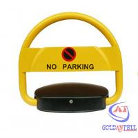 Buy cheap Electronic Steel Car Parking Locks 12V Solar Power Parking Space Savers from wholesalers