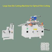 Buy cheap Auto Feeding Laminate Flatbed Die Cutter Equipment With Paper Slicer , Conveyor Belt from wholesalers