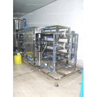 Buy cheap Reverse Osmosis purified drinking Water Treatment Equipments , water filtration system from wholesalers