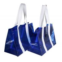 Buy cheap PVC Reusable Transparent Fabric Carrier Bags water proof for shopping from wholesalers