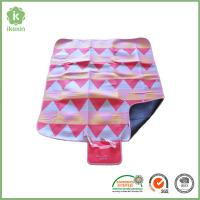 Buy cheap Polyester Folding Printed Camping Throw  Waterproof Picnic Blanket from wholesalers