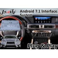 Buy cheap Lsailt Android Car Video Interface for Lexus GS250 GS 250 2012-2015 Mouse Control Model with GPS Navigation from wholesalers