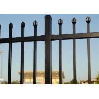 Buy cheap Galvanized Steel Tubular Fence Stain Yellow Powder Interpon 80 microns thick 1820mm x 3000mm width from wholesalers
