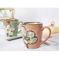Buy cheap Hand Painting Ceramic Mugs Coffee Eco Friendly Dishwasher Safe Cadmium Free from wholesalers