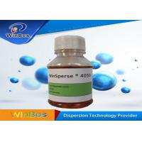 Buy cheap Eco - Frinendly WinSperse Carbon Black Dispersant  Water Based Colorant Dispersant from wholesalers