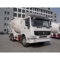 Buy cheap 226HP Truck Concrete Mixer , 4x2 Or 6x4 Cement Truck Mixer Diesel Type from wholesalers