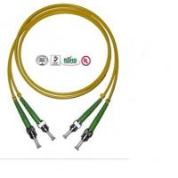 Buy cheap 2 Core ST Fiber Optic Cable , PVC LSZH Cable For Data Transmission from wholesalers